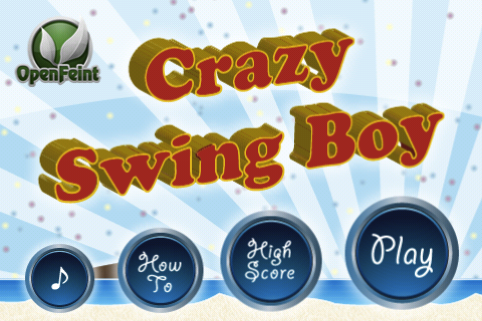 Screenshot Crazy Swing Boy