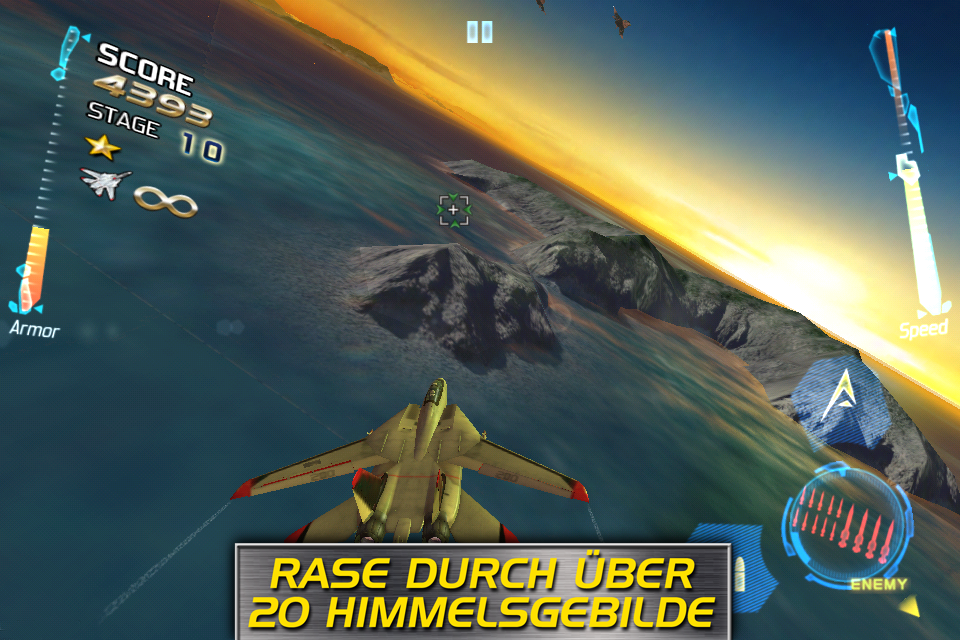 After Burner Climax iPhone, iPad Screenshot